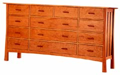 Horizon 13-drawer Dresser