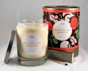 <b>Kobo Soy Candles - Motif Collection - Set of 6 candles - Figue Blanche, Gardenia Royal, Leather MAhogany, Orange Amber, Tabac and Talc,  & Zapote </b>