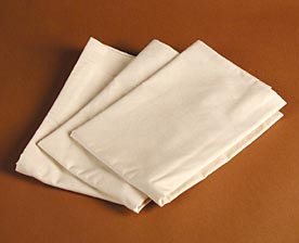 earthsake Organic Cotton Muslin Pillow Covers