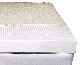 The Solstice 6-inch Core Latex Organic Mattress --  -(6