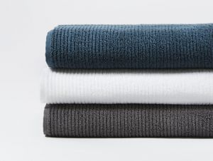 Organic Cotton Towels - Ribbed