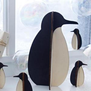 Alpine Tux Penguin Wood figures