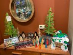 earthSake Alpine Ornaments, Trees, Penguins and Snowmen 2020